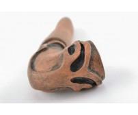 Классическая глиняная трубка. Модель 27