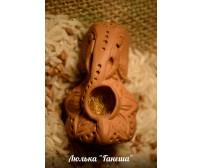 Глиняная трубка. Серия 'Шаман'. Модель 02