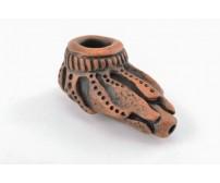 Глиняная трубка. Серия 'Шаман'. Модель 15
